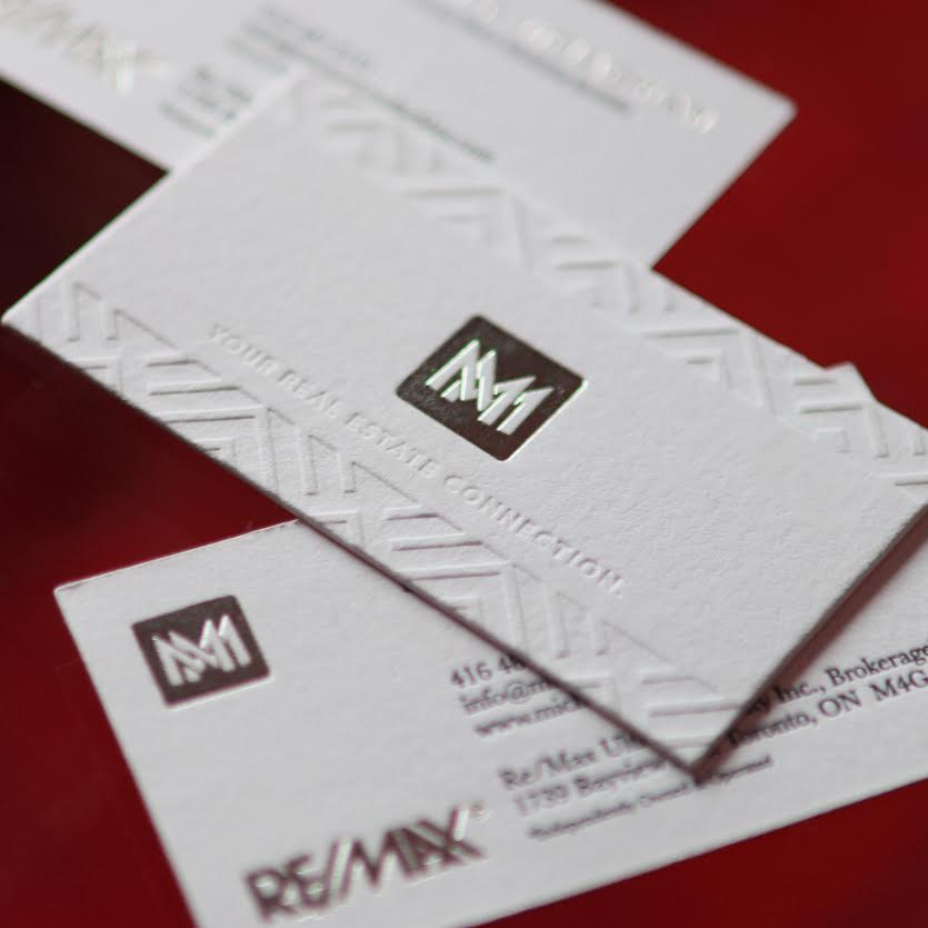 Michael M business cards - Iconica Communications