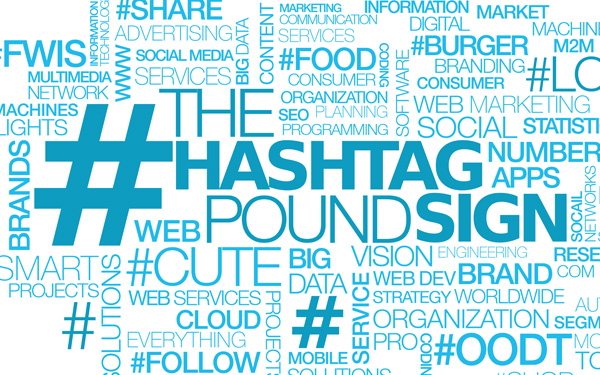 Hashtags for your posts