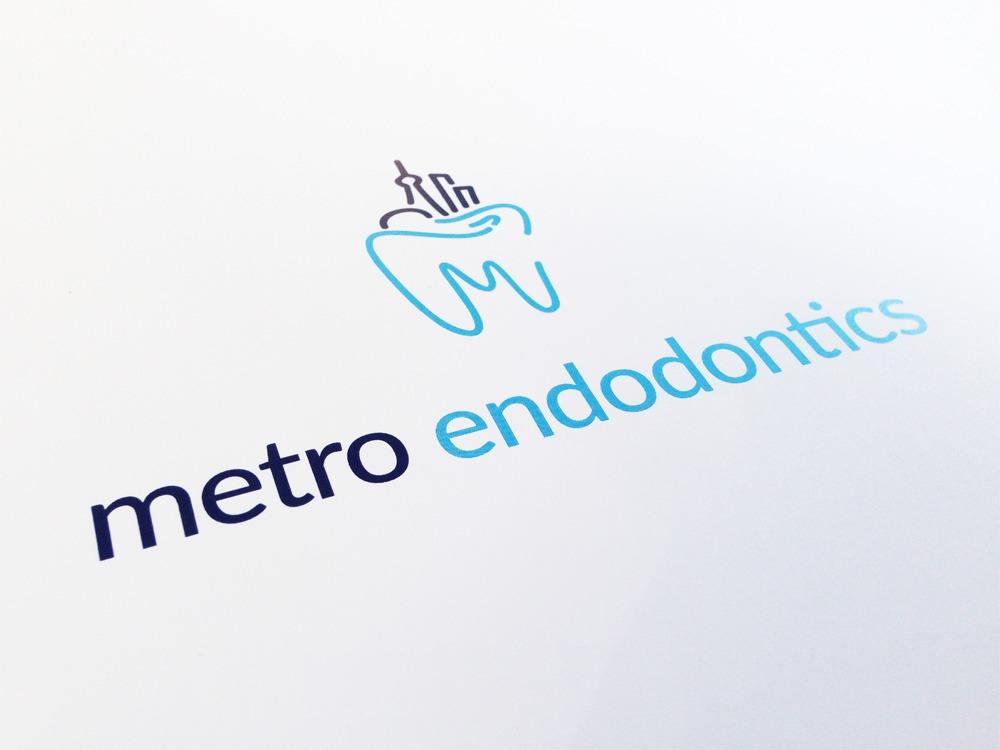 Metro Endodontics logo - Iconica Communications
