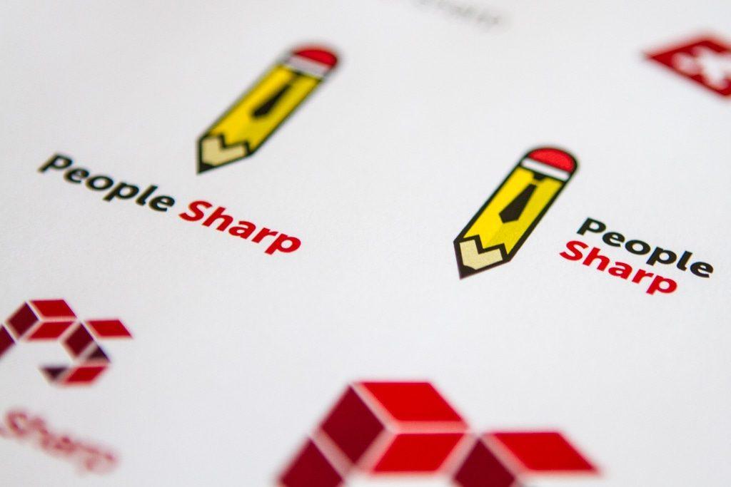 People Sharp logo concepts