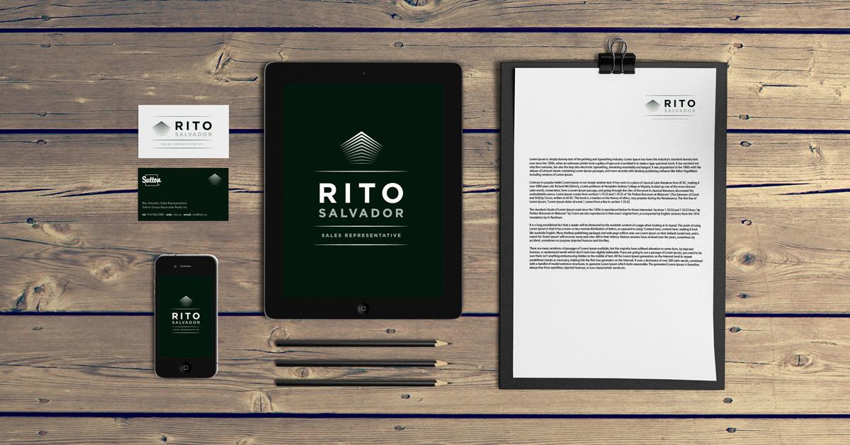 Rito Salvador branding