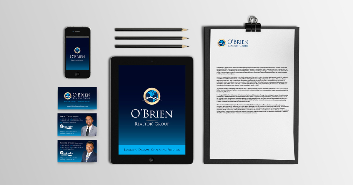 Richard O'Brien branding