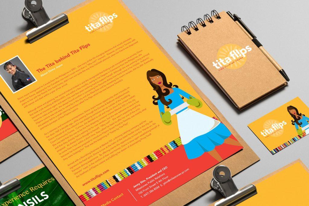 Tita Flips Media Kit