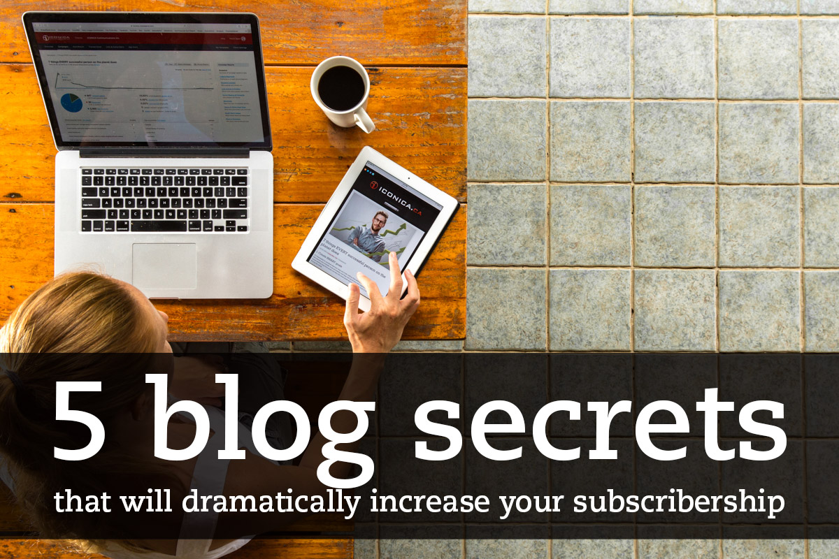 5 Blog secrets