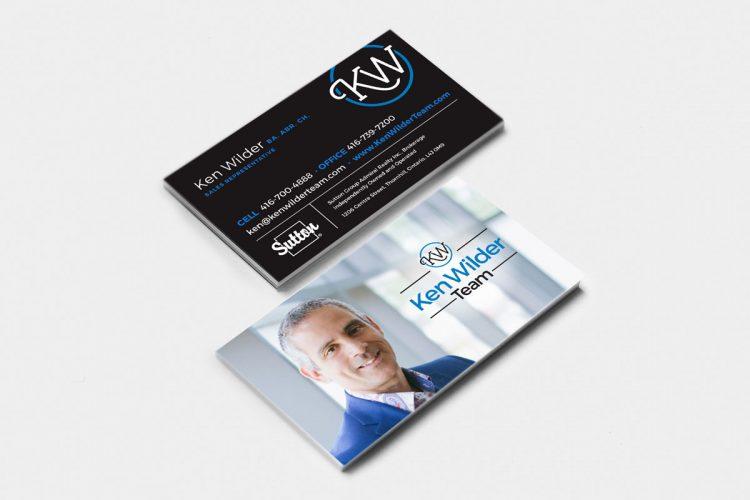 Ken Wilder business card