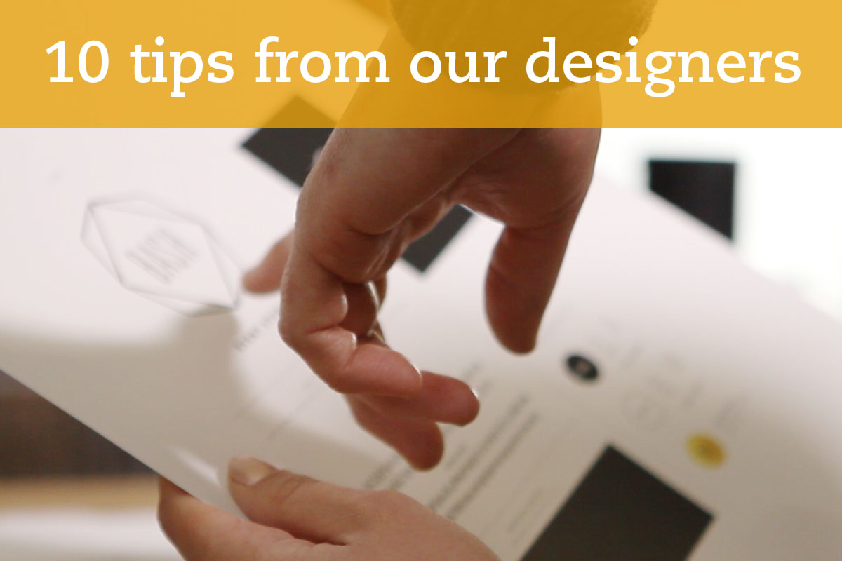 10 tips from our designers - Iconica Communications