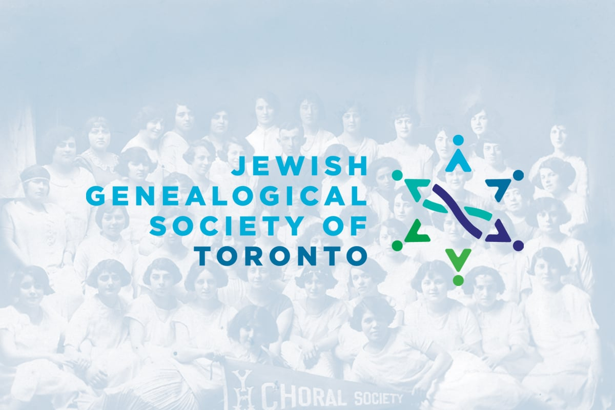 Jewish Genealogical Society of Toronto - Iconica Communications