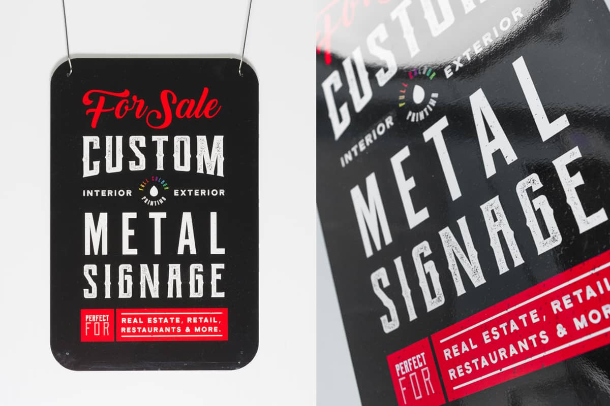 Metal Signs - Iconica Communications