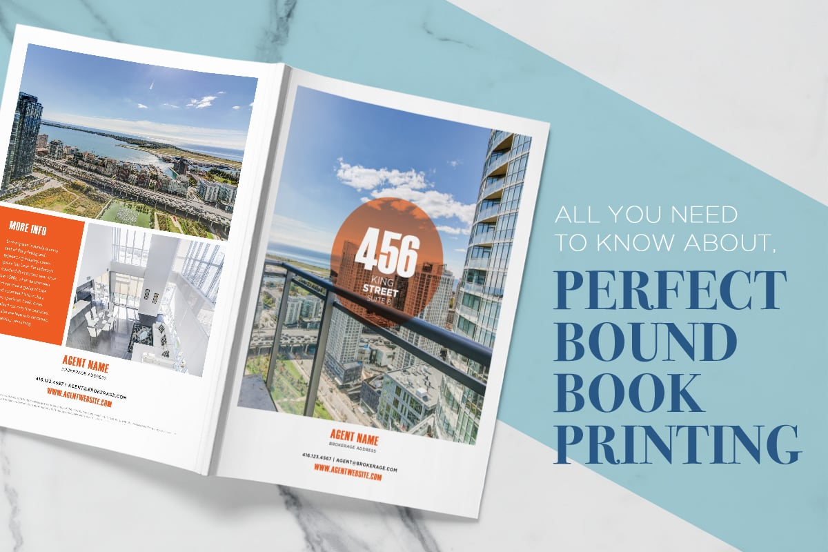 Perfect Bound Book Printing - Iconica Communications