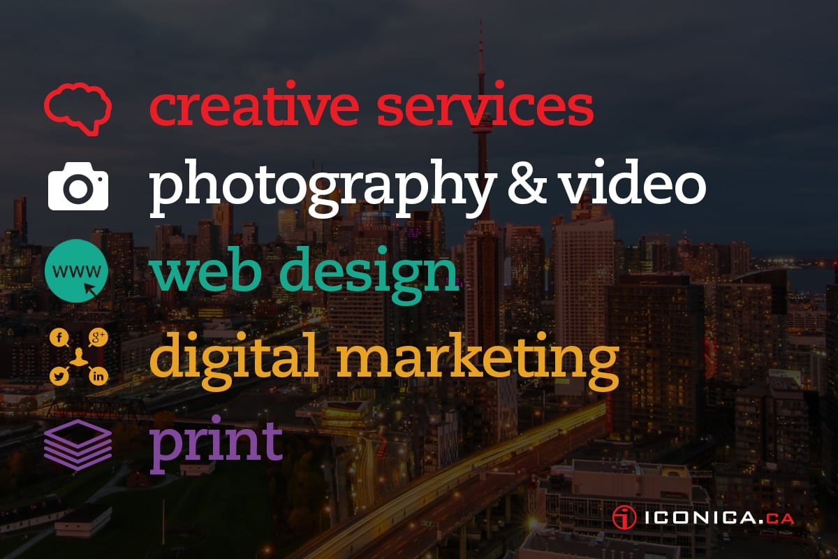 Our Services - Iconica Communciations