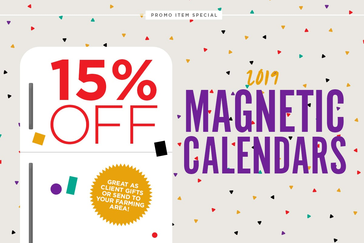 15% off Magnetic calendars - Iconica Communications