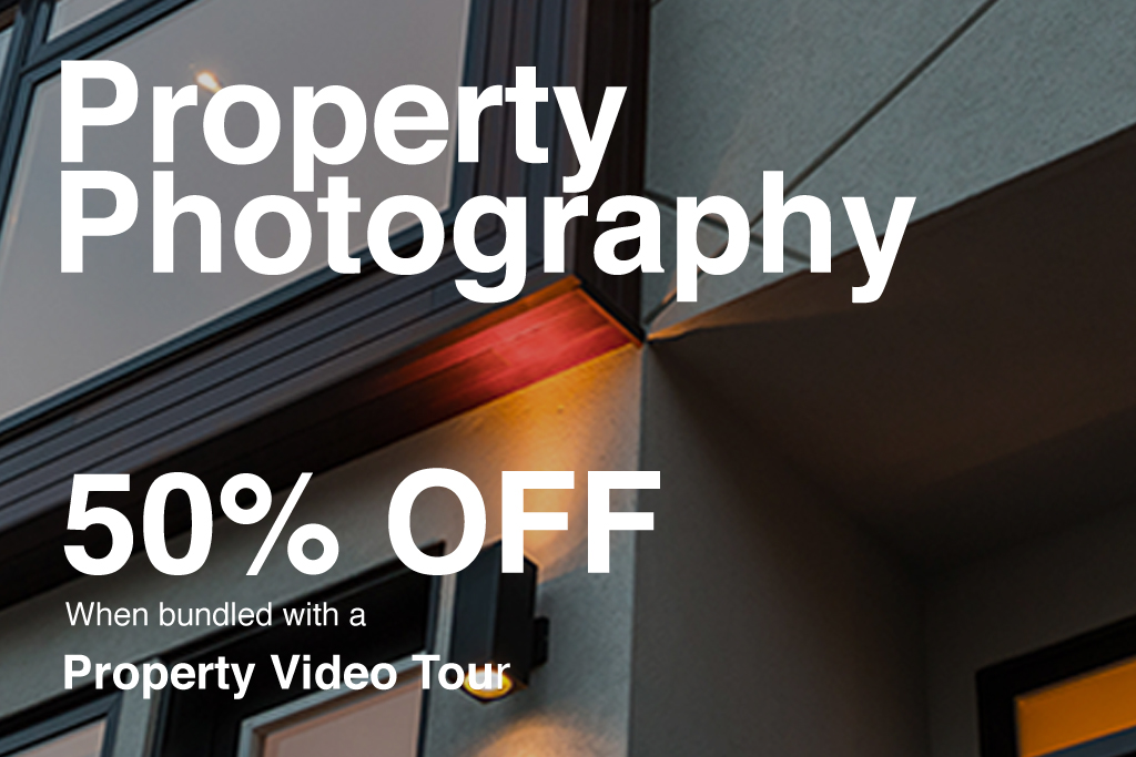 Property photography - 50% off promotion