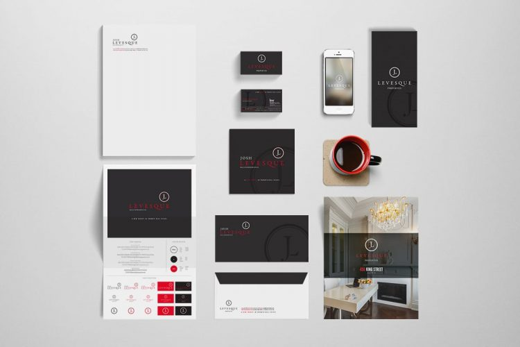Josh Levesque branding - Iconica Communications
