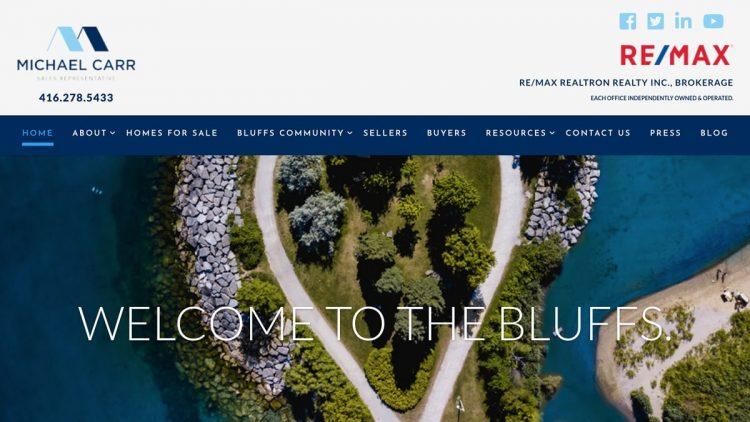Bluffs.ca - Iconica Communications
