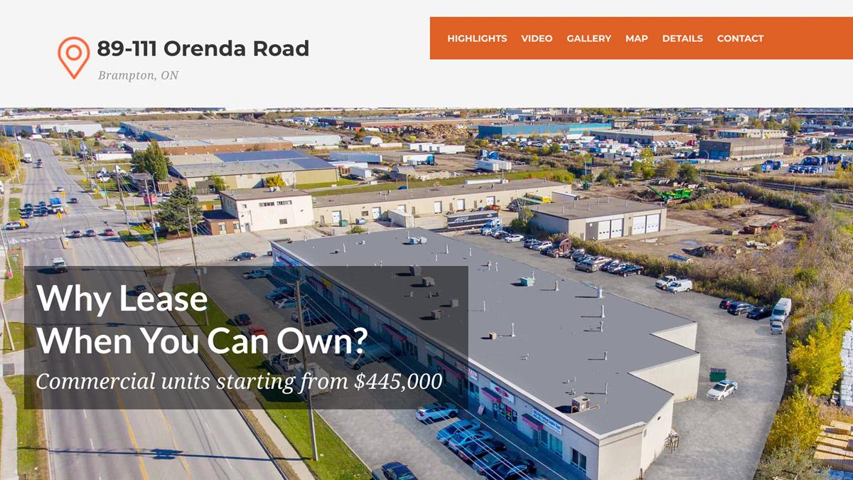 Orenda Road Condos