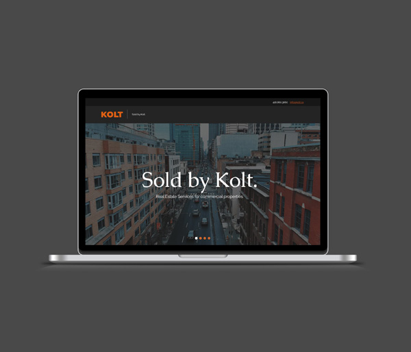 Kolt website - Iconica Communications