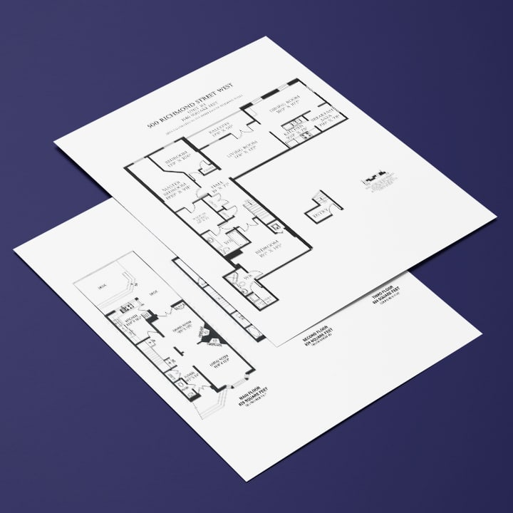 Iconica Real Estate Marketing - floor plans