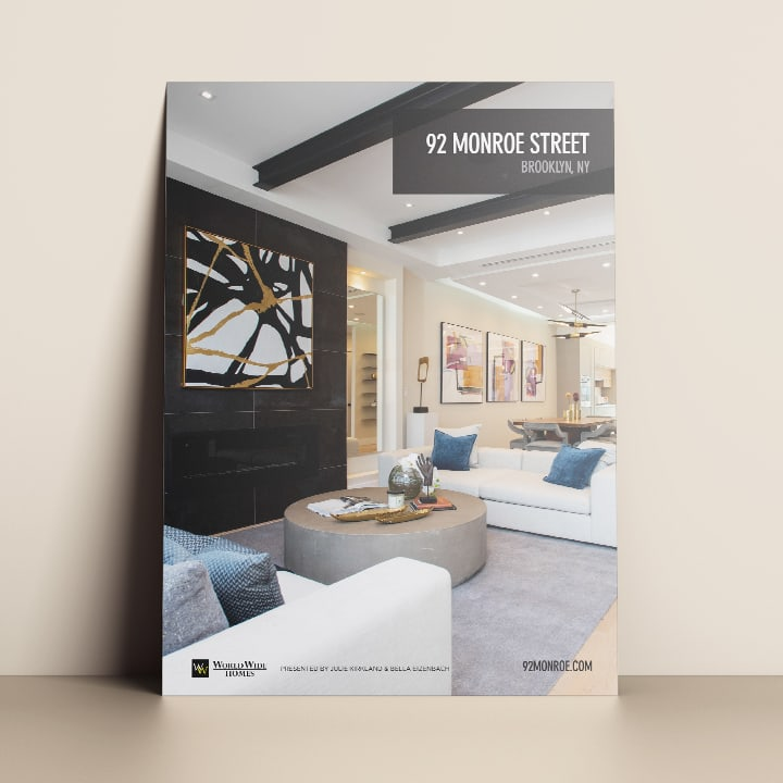 Iconica Real Estate Marketing feature sheets