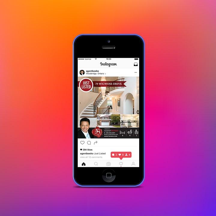 Iconica Real Estate Marketing -Mobile Website development