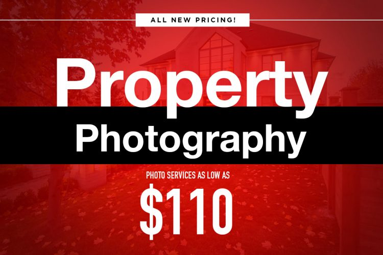 Property photography $110