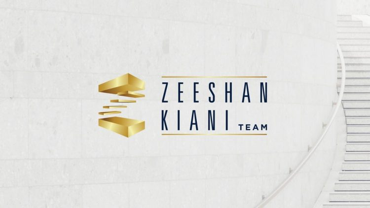 Zeeshan Kiani branding - Iconica Communications