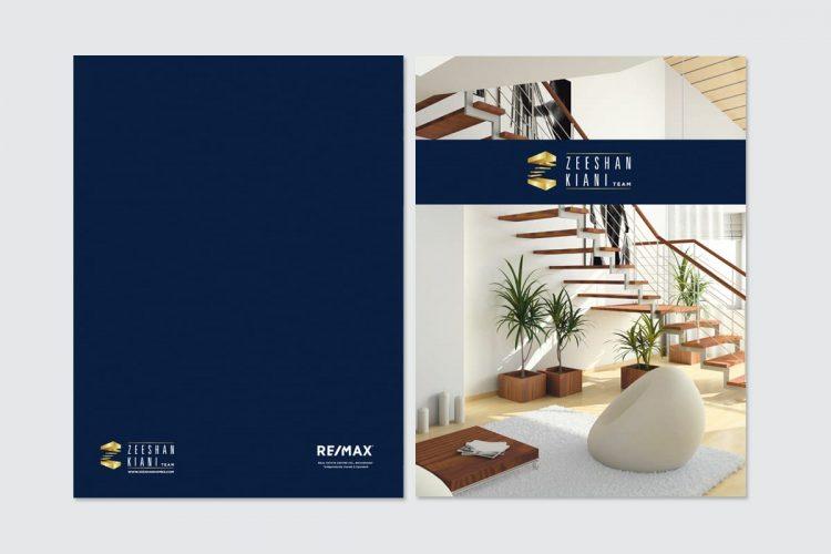 Zeeshan Kiani branding - Iconica Communications