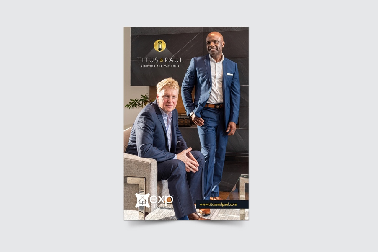 Titus and Paul marketing material - Iconica Communications