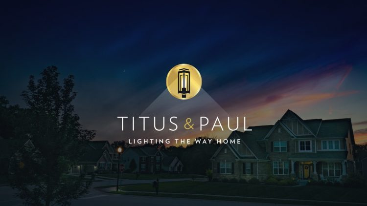 Titus and Paul branding - Iconica Communications