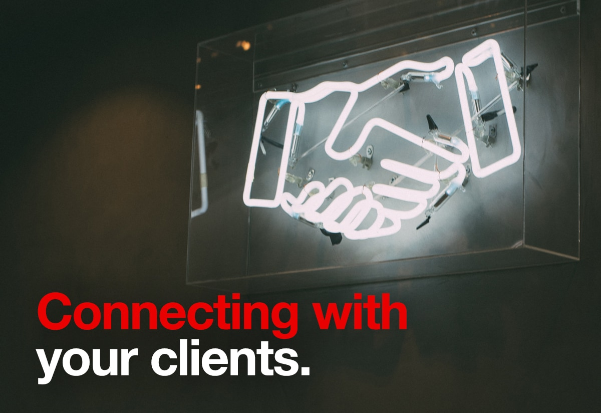 Connecting with your clients - Iconica Communciations