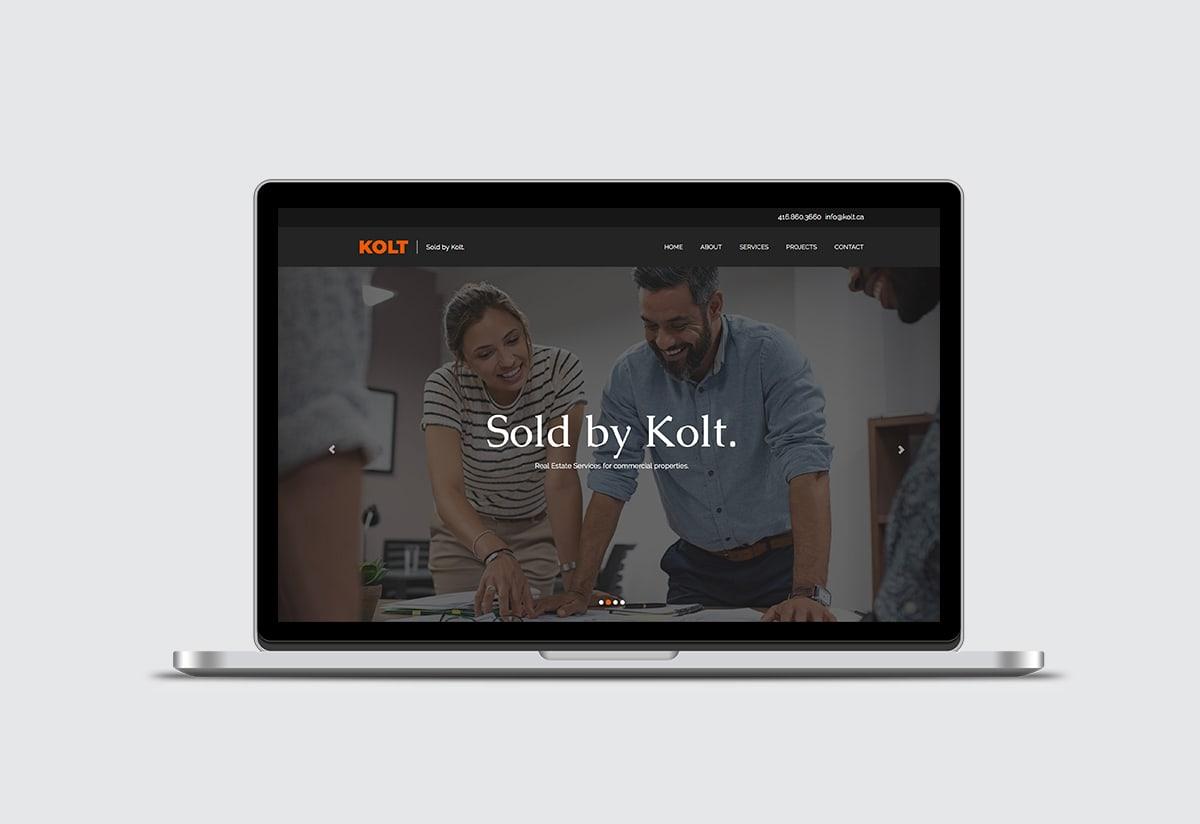 Kolt Real estate website